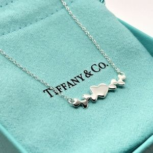 Tiffany & Co Paloma Picasso Heart Cluster Necklace